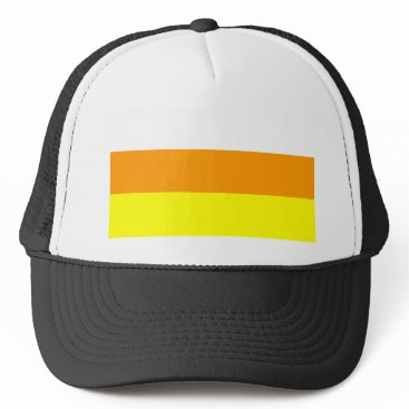 Halloween Themed Candy Corn Color Trucker Hat