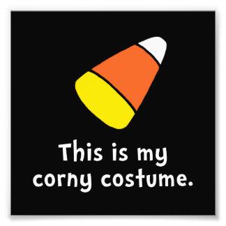 Candy Corn Corny Costume Photo Print