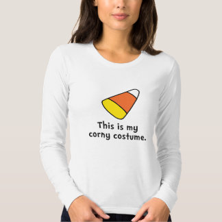 Candy Corn Corny Costume Tee Shirt