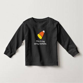 Candy Corn Corny Costume Toddler T-shirt