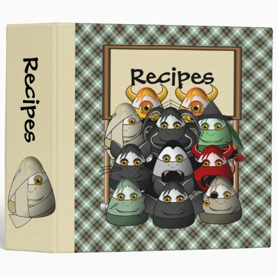 Candy Corn Creepies Recipe Binder