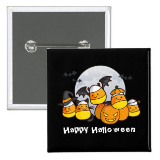 Candy Corn Critters Button