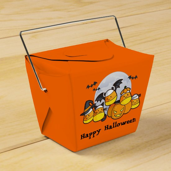 Candy Corn Critters Favor Box