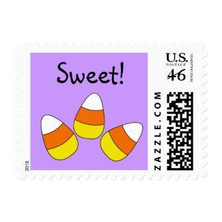 Candy Corn Custom Postage stamp