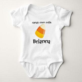 Candy Corn Cutie Baby Jersey Bodysuit