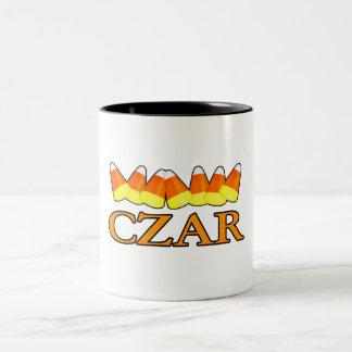 Candy Corn Czar Mugs
