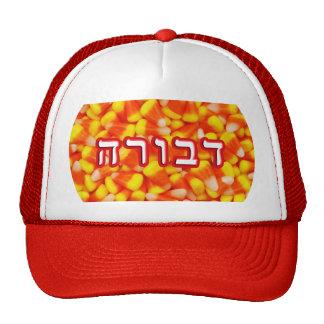 Candy Corn Devora, Devorah, Deborah Trucker Hat