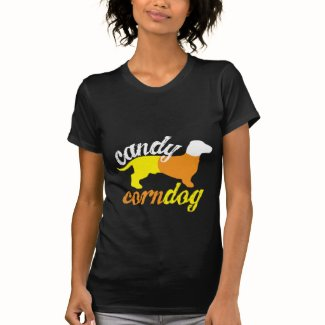 Candy Corn Dog T Shirts