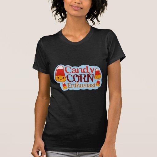 Candy Corn Enthusiast (Vintage) T-shirt