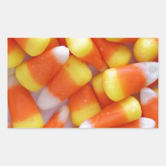 Candy Corn Galore Rectangular Sticker