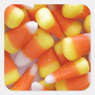 Candy Corn Galore Square Sticker