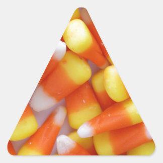 Candy Corn Galore Triangle Sticker
