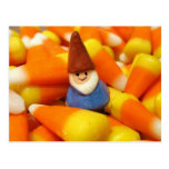 Candy Corn Gnome Post Cards