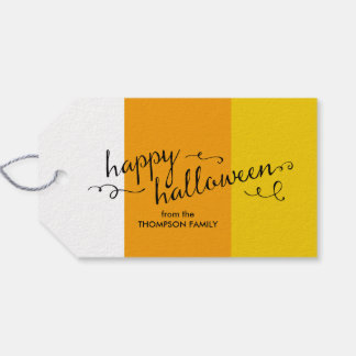 candy corn halloween gift tags - Halloween Gift Tag