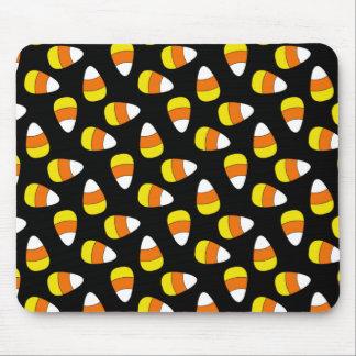 Candy Corn Halloween Mousepad