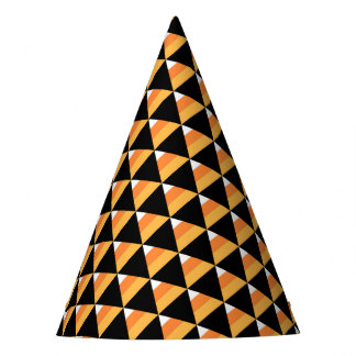 Candy Corn Halloween Party Hat