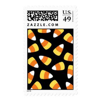 Candy Corn Halloween Stamp