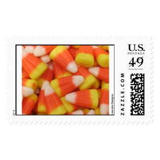 Candy Corn Halloween Stamps