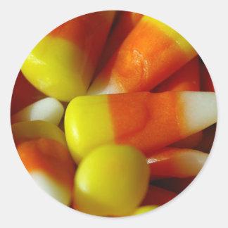 Candy Corn Halloween Sticker