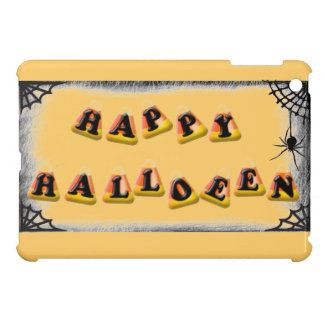 Candy Corn Happy Halloween Cover For The iPad Mini