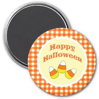 Candy Corn Happy Halloween Magnet