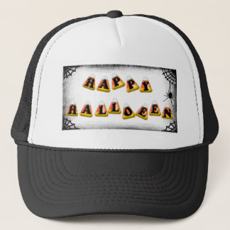 Candy Corn Happy Halloween Trucker Hat