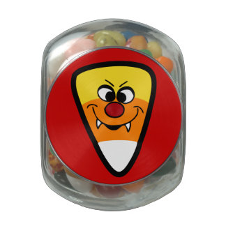 Candy Corn is Evil Jelly Belly Candy Jar
