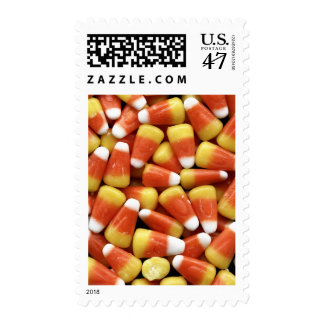 Candy Corn Jumble Postage Stamp