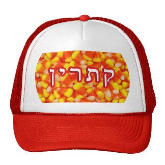 Candy Corn Katherine, Catherine Trucker Hat