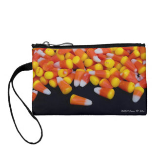 Candy Corn Key Coin Clutch Coin Wallets