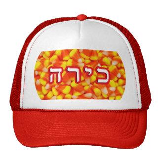 Candy Corn Kira, Kyra Trucker Hat