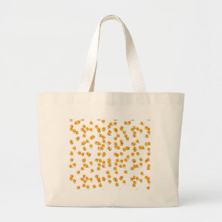 Candy Corn Large Tote Bag