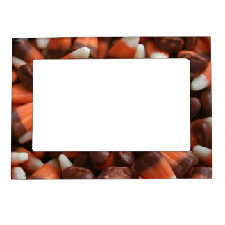 Candy Corn Magnetic Frame