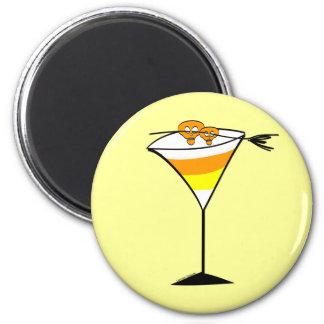Candy Corn Martini Magnet