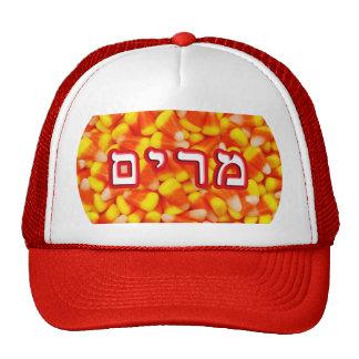Candy Corn Miriam, Miryam (Mary) Trucker Hat