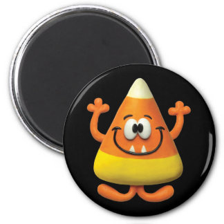 Candy Corn Monster Refrigerator Magnet