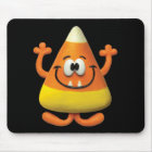 Candy Corn Monster Mouse Pad