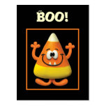 Candy Corn Monster Post Card