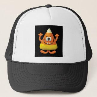 Candy Corn Monster Trucker Hat