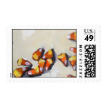 Candy Corn no. 2 Postage Stamp
