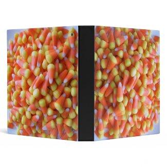 Candy Corn Notebook Binder binder
