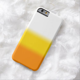 Candy Corn Ombre Halloween Barely There iPhone 6 Case