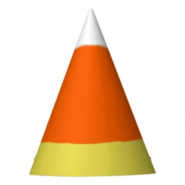 Halloween Themed Candy Corn Party Hat