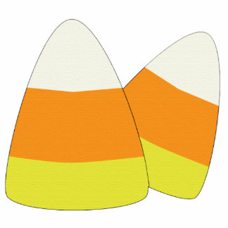 Candy Corn Patchwork Ornament