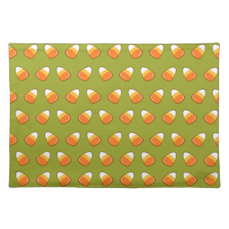 Candy Corn pattern Placemat