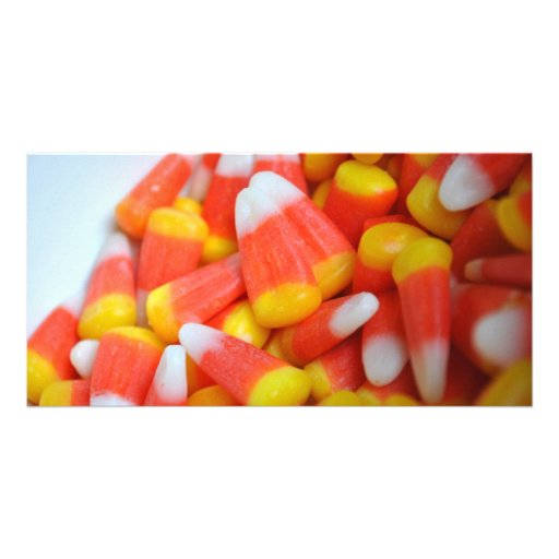 Candy Corn Photo Cards
