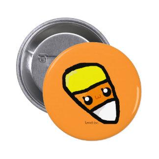 Candy Corn Pinback Button
