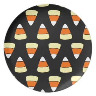 Candy Corn Plates