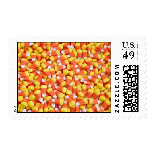 Candy Corn Postage