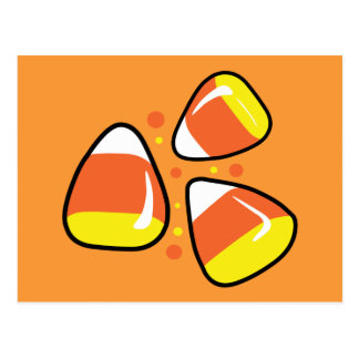 Candy Corn Post Cards